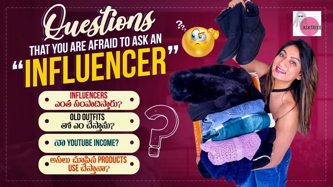 """Answering questions """"Influencers"""" are SCARED of! 