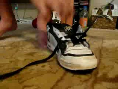 How To Bar Lace Your Shoes Clear Vision
