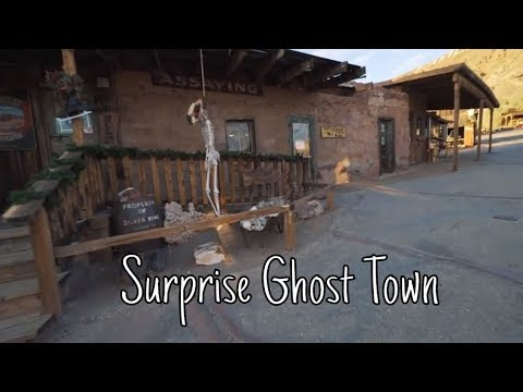 WE ALMOST MISSED THIS GHOST TOWN!