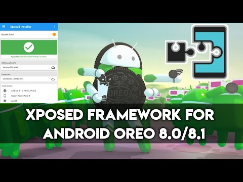 Xposed for Android 8 0/8 1 Oreo - How to Download and Install - YouTube