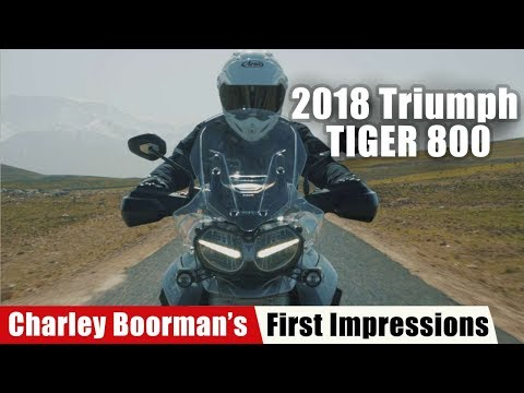 Charley Boorman Shares First Impressions on the 2018 Triumph Tiger 800