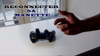 RECONNECTER sa manette PS4