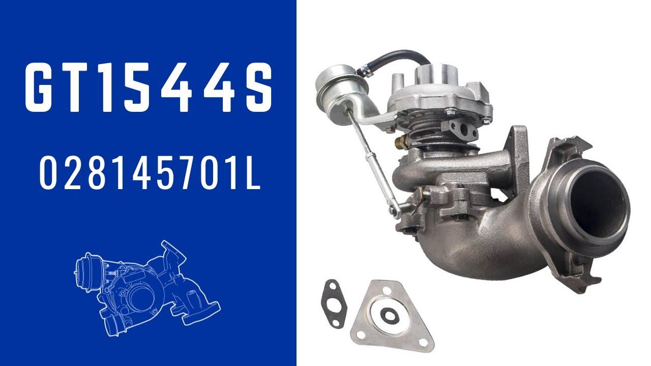 Turbocharger for VW Transporter T4 1.9 TD 68HP ABL 028145701L GT1544S Turbo neuf