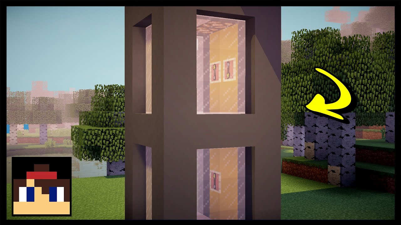 ✓ Minecraft: How To Make A Working Elevator MCPE (No Mods Or