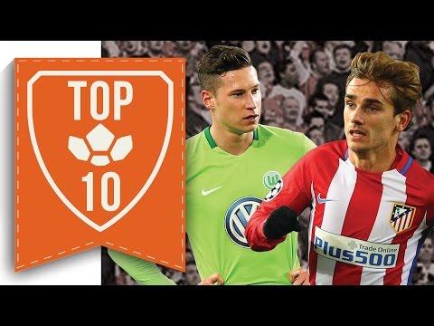 Top 10 January Transfers Rumours