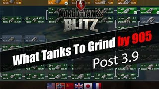 "WoT Blitz : What Tanks to Grind  : Post 3.9 - ""OP & BAD TANKS"" [905]"