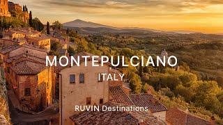 Montepulciano, Italy | Dreamy Walking Tour with Alena