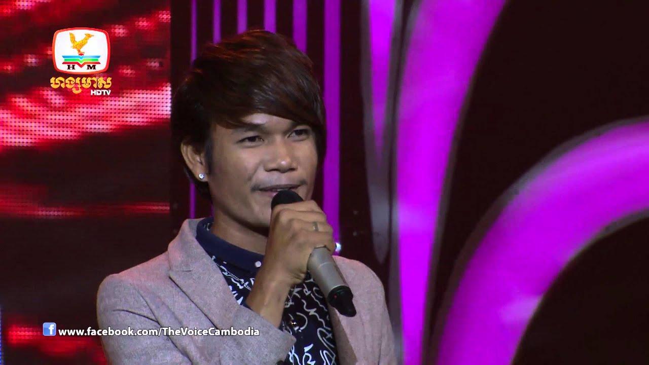 The Voice Cambodia - ប៊ុត សីហា - ដឹងទេថាខ្ញុំឈឺ - 07 Sep 2014