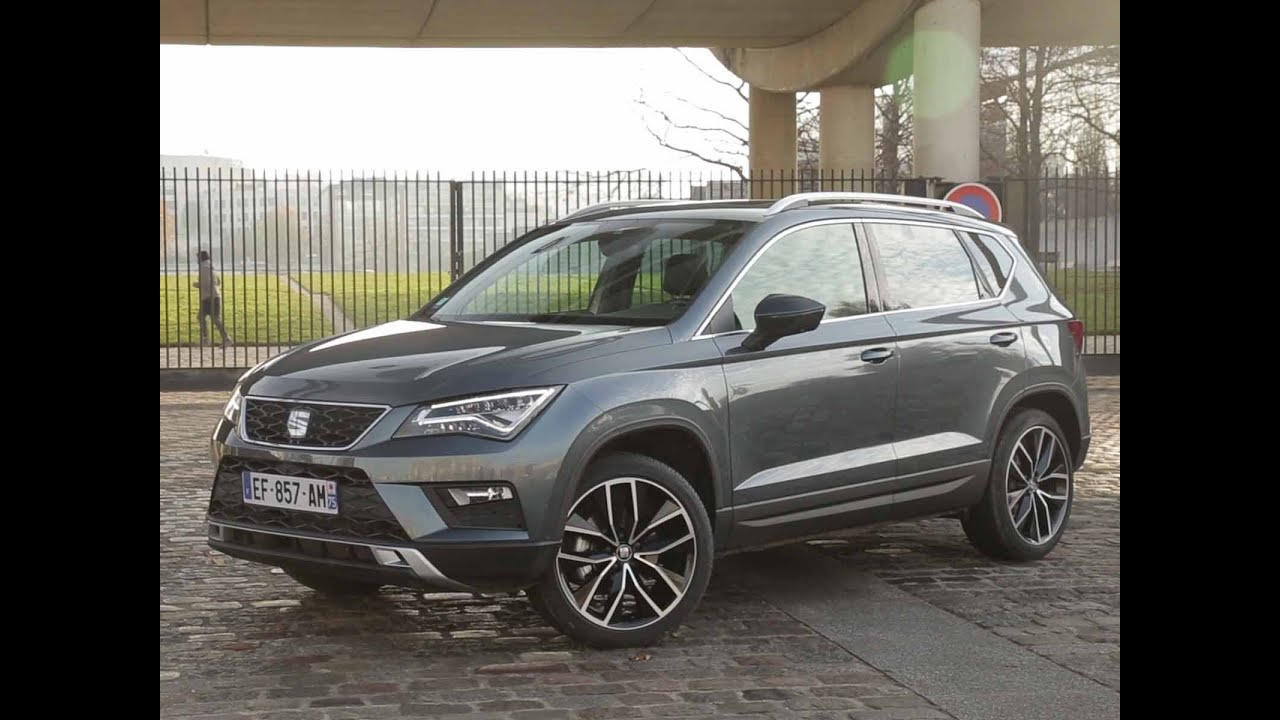 essai seat ateca 1 4 tsi 150 act 4drive xcellence 2016 youtube. Black Bedroom Furniture Sets. Home Design Ideas
