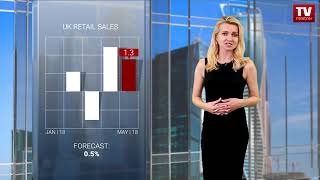 InstaForex tv news: GBP sharply jumps to highs  (14.06.2018)