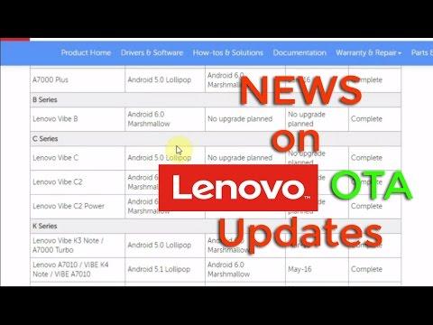 [Hindi] All Informations Regarding Lenovo Smart Phones OTA updates | Must Watch