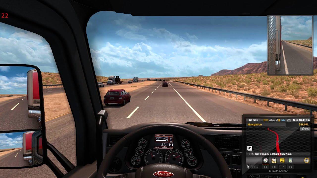American Truck Simulator Coast to Coast mod