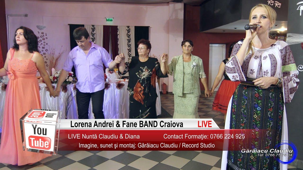 Lorena Andrei Fane Band Craiova Live Horapart1 Muzica De