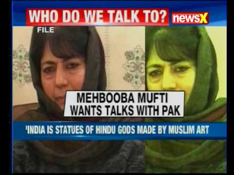 Pakistan's contribution important for Jammu and Kashmir, says CM Mehbooba Mufti
