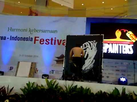 THE PAINTERS HERO @KPOP FOOD FEST IN  LOTTE SHOPPNG AVENUE