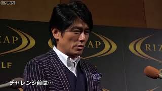Takahashi Katsunori Achieving a Golf Challenge 俳優の高橋克典(52...