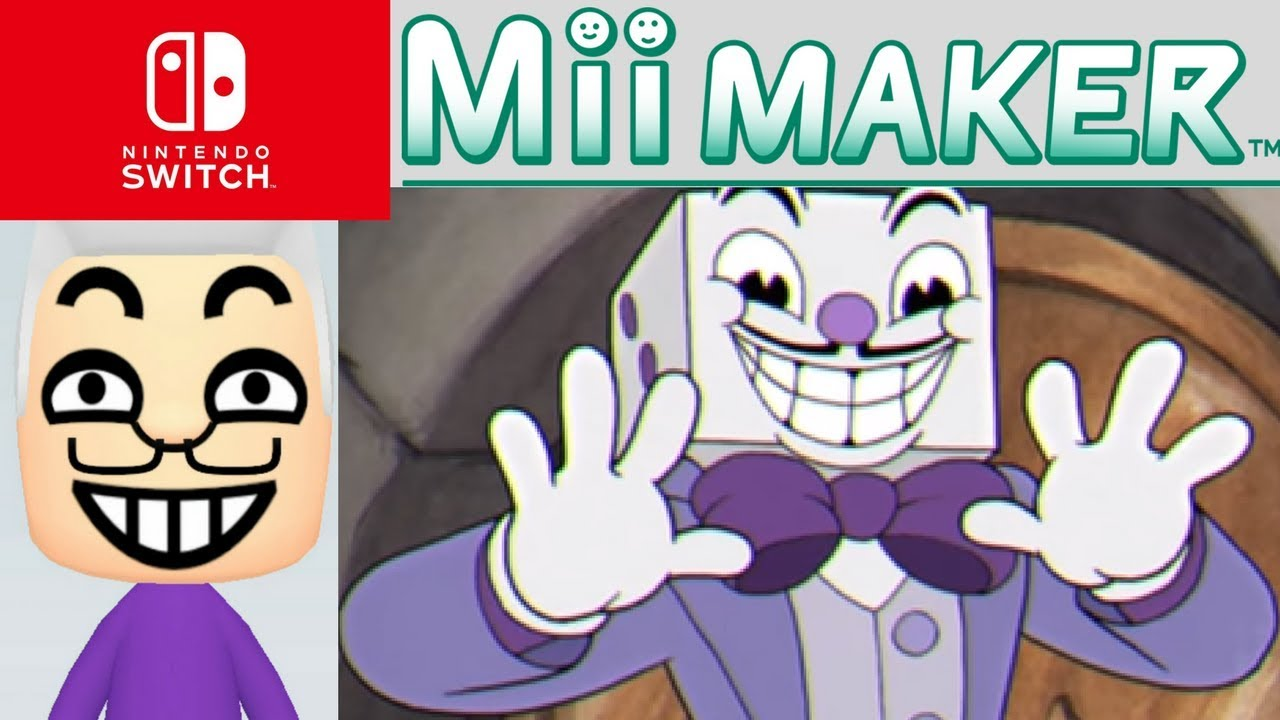 Mii Maker How To Create King Dice From Cuphead by AndzyGM