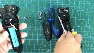 Cách mở máy thay Pin cho máy cạo râu panasonic nội địa Nhật loại dùng đế sạc không dây