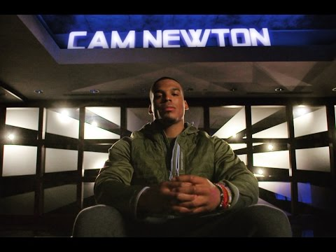 Cam Newton interview with Michael Strahan