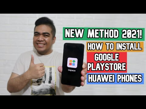 How to Install Google Play Store on your Huawei Phone 2021 | Nova 7 | Nova 8 | Y9a | Mate 40 | Y7a