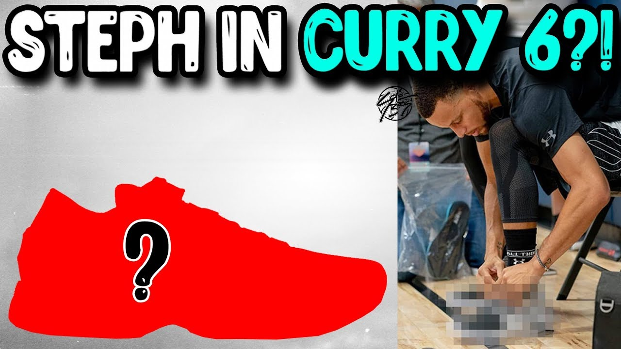 size 40 fccd4 70280 Stephen Curry Seen Wearing the Curry 6! LEAK! HOVR Cushion?!