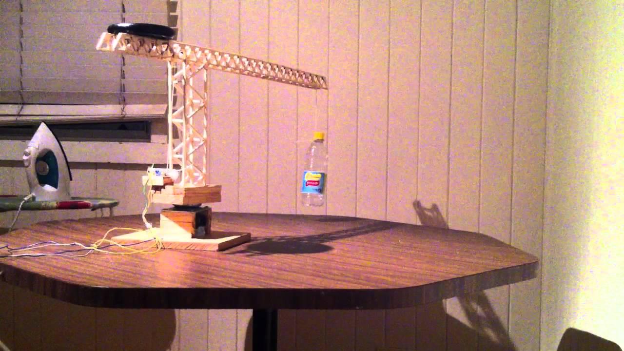 Working Model Crane Engineering Project