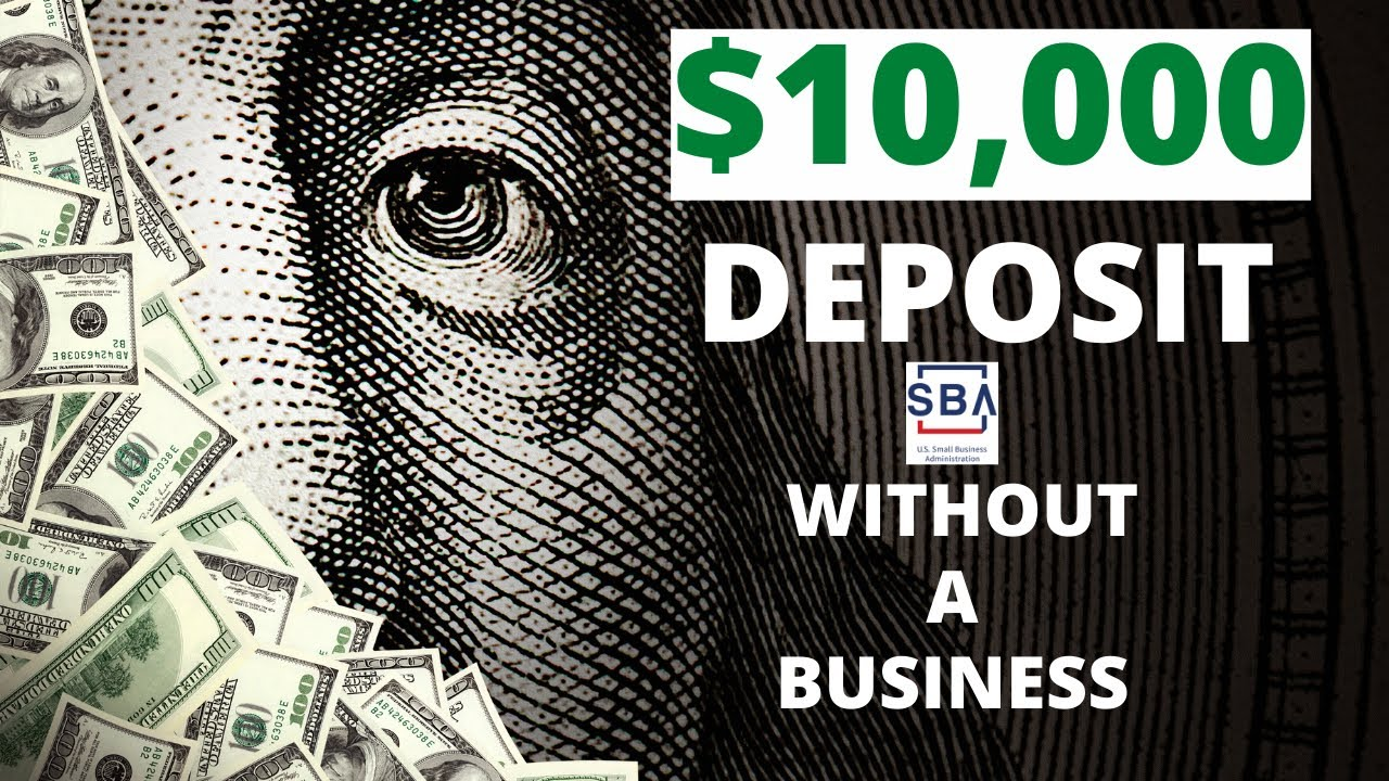 Without A Business how to fill out the SBA EIDL Application ($10,000)
