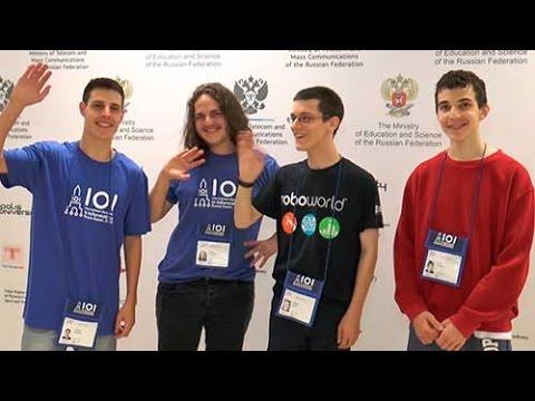 Israeli team IOI 2016 in Kazan Russia