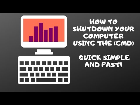How To Shut Down Your Computer Via Command Prompt (CMD)