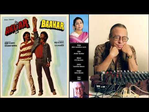 Meri Aankhon Mein - Andar Baahar - R D Burman - Gulshan Bawra - Asha Bhosle - 1984