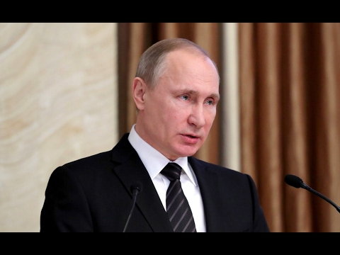Vladimir Putin. Meeting of Federal Security Service Board (Eng Sub)