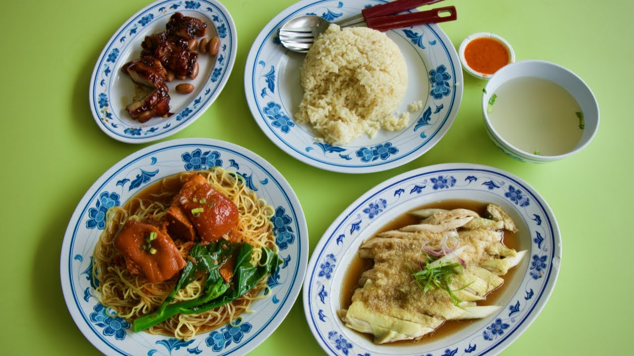 Hard-to-find Cantonese street food! (Fragrant Sauce Chicken & Noodles)