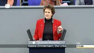 Sabine Zimmermann, DIE LINKE: Zusatzbeiträge abschaffen - Parität wiederherstellen