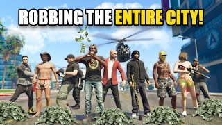 ROBBING THE ENTIRE CITY WITH A FORMER JEWEL THIEF! *PROTECT THE G!* | GTA 5 THUG LIFE #361