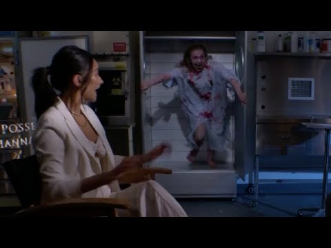 Shay Mitchell Delivers Big Scare During Interview for 'Possession of Hannah Grace'