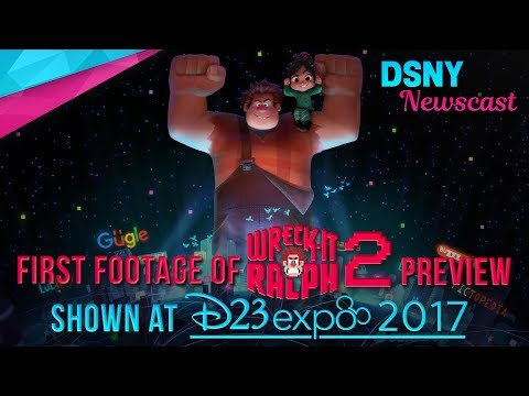 New Details & Footage of Wreck-It Ralph 2 Previewed at D23 EXPO 2017 - Disney News - 7/15/17