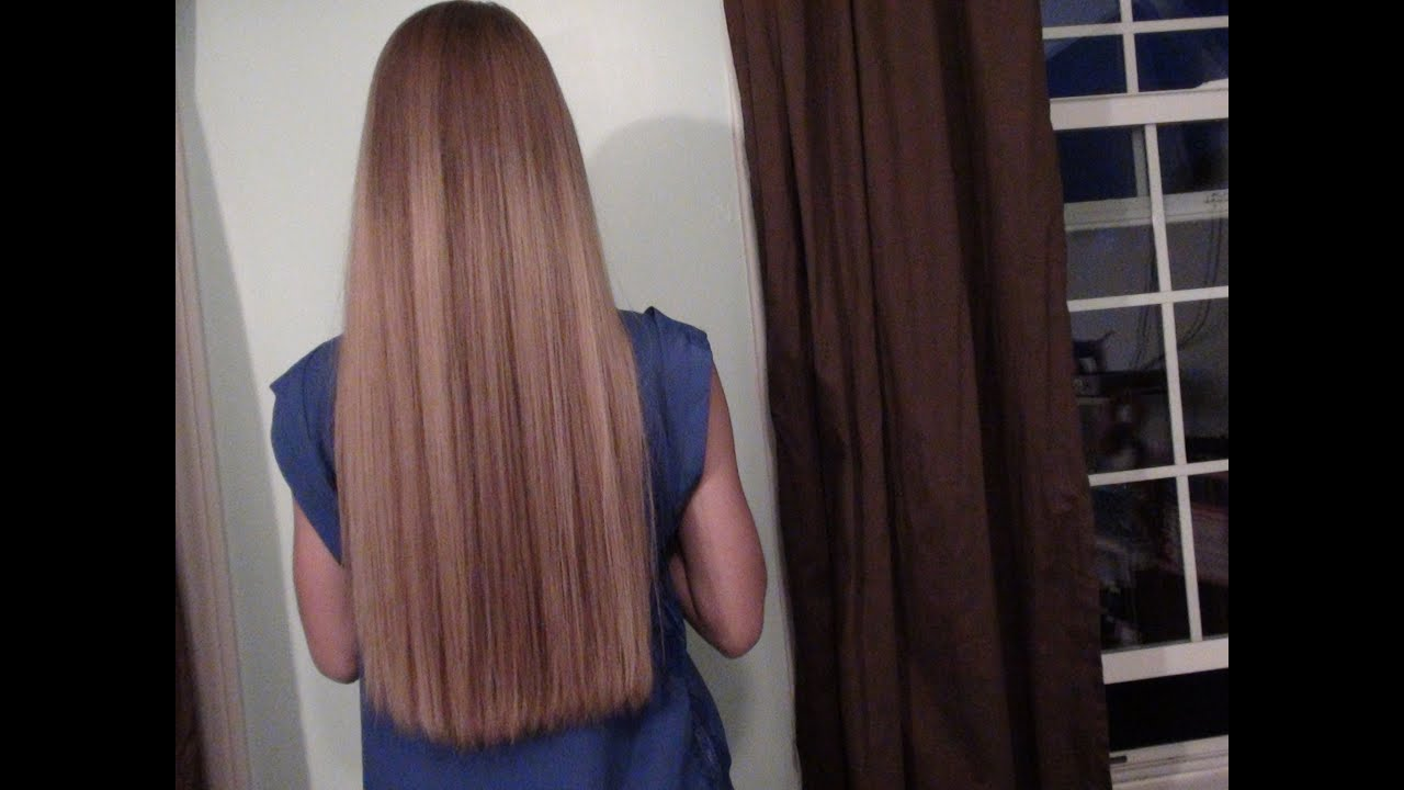 My Hair Straightening Routine - YouTube