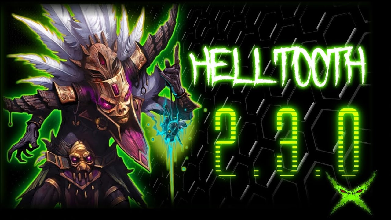 Diablo  Witch Doctor Helltooth Solo Build