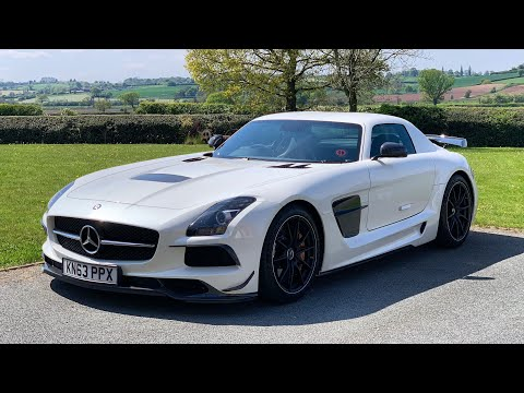 Mercedes SLS AMG BLACK SERIES - First Drive Review! Modern Classics Ep 13