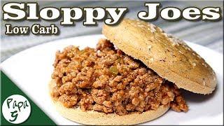 Classic Sloppy Joes – Low Carb Keto Sandwich Recipe