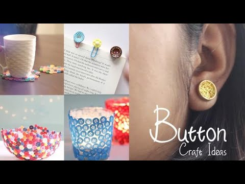 Easy Button Craft Ideas