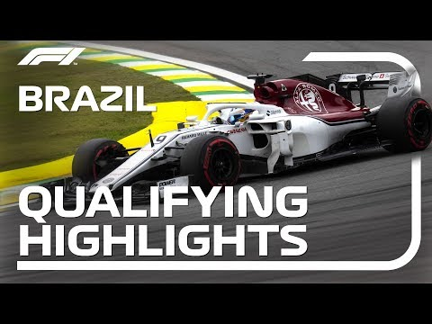 2018 Brazilian Grand Prix: Qualifying Highlights
