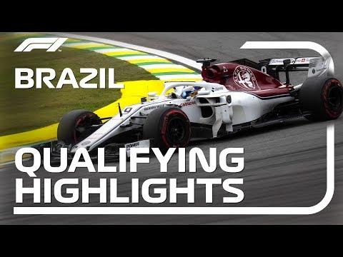 2018 Brazilian Grand Prix: Qualifying Highlights