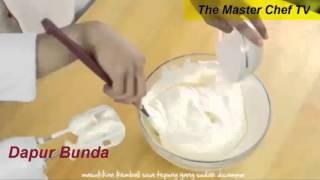 Resep Kue Moka Nougat Ala Dapur Bunda