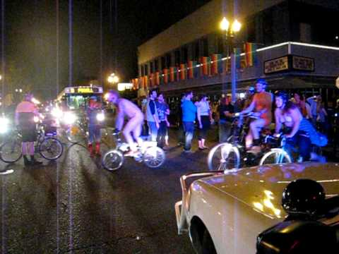 Portland OR Naked Bike Ride 2009