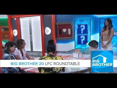 BB20 | Tuesday LFC Roundtable  - Sept 18, 2018