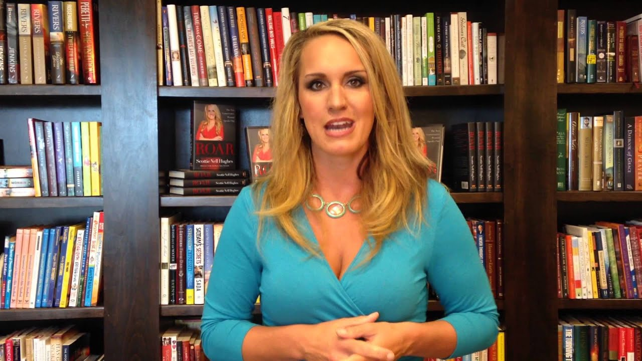 Scottie Nell Hughes Talkes To Men About Her New Book ROAR ...