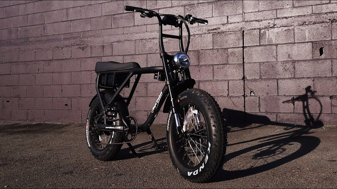 New Ace Electric Motor Bike By Ampd Brothers Youtube