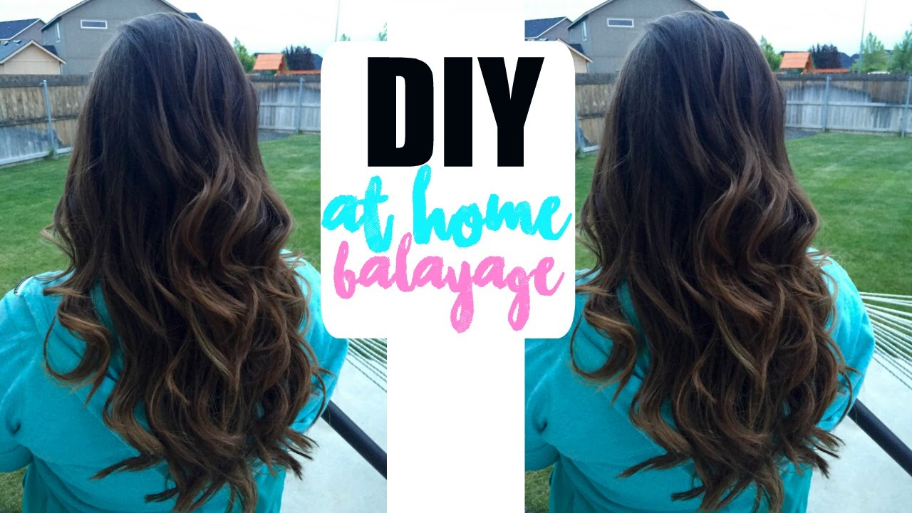 Diy balayage at home only 20 youtube solutioingenieria Image collections