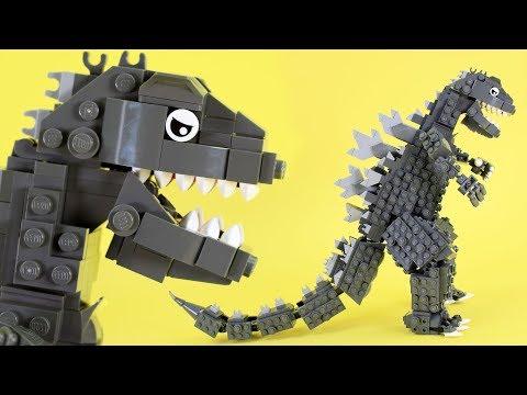How to Build LEGO Godzilla  From The Godzilla Film Franchise